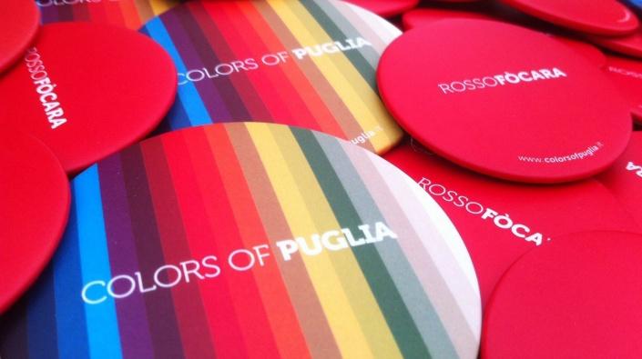 Colors of Puglia-Rosso Fòcara
